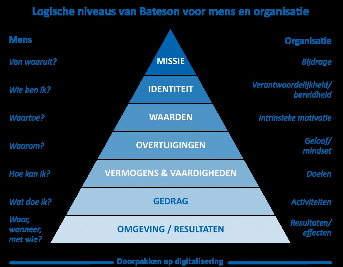 Piramide model van Bateson